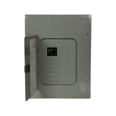 BR 100 Amp 12-Space 20-Circuit 22K Main Breaker Load Center Product Photo
