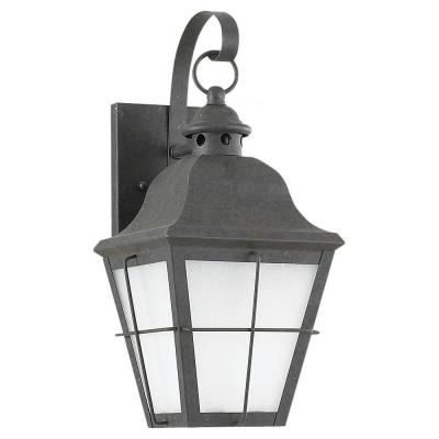 Sea Gull Lighting Chatham Wall-Mount 1-Light Outdoor Oxidized Bronze Fixture