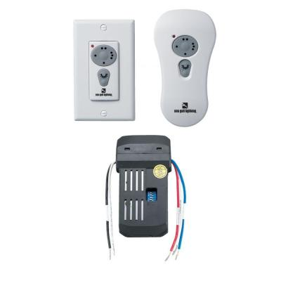 White Ceiling Fan Wireless Remote Control