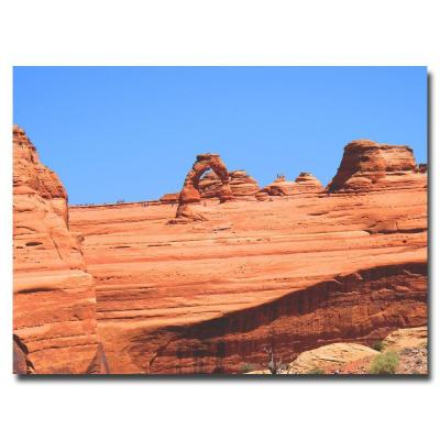 35 in. x 47 in. Red Rock Canvas Art