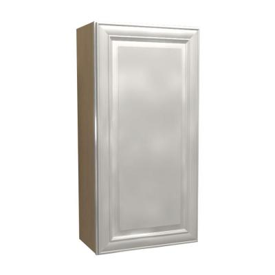 12x42x12 in. Brookfield Assembled Wall Cabinet with 1 Door Left Hand
