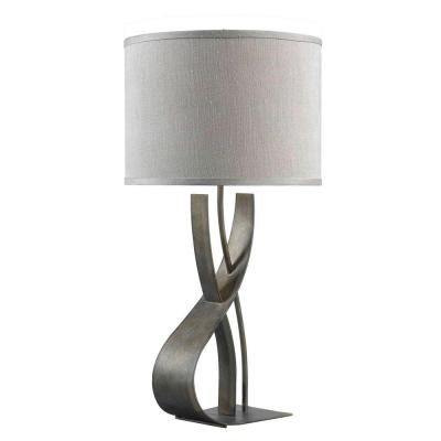 Canyon 30 in. Smoked Bronze Table Lamp