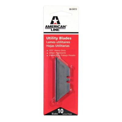 American Line Heavy Duty Utility Blades (10-Pack)