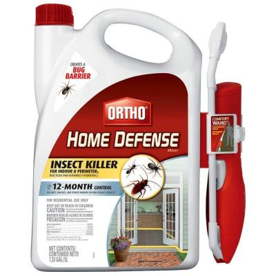 Home Defense Max Perimeter and Indoor Insect Killer with Wand (Case