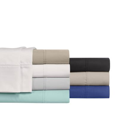Blissful Living Solid 800-Thread Count Cotton Blend Sheet Set