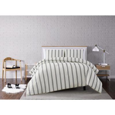 Millenial Stripe Comforter Set