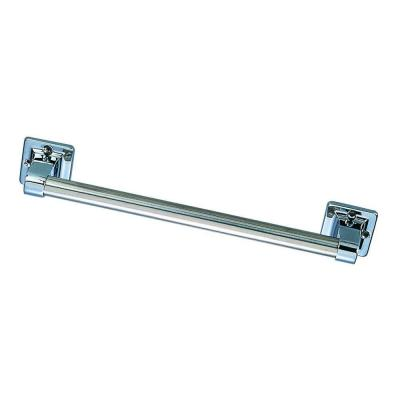 9 in. x 7/8 in. Residential Safety Grab Bar in Polished Chrome Product Photo