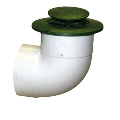 NDS 3 in. Plastic Pop-Up Drainage Emitter with Elbow