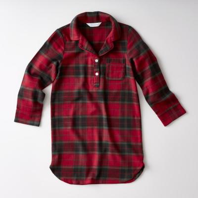 Family Flannel Company Cotton™ Girl's Sleepshirt in Red Plaid