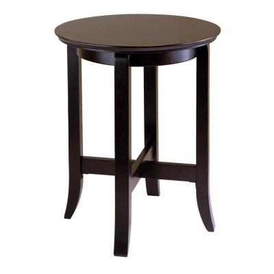 Winsome Wood Toby Espresso End Table