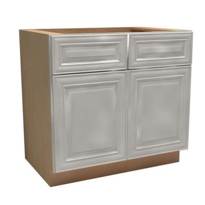 36x34.5x21 in. Brookfield Assembled Vanity Sink Base Cabinet with 2 Doors