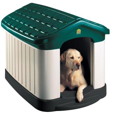 Pet Zone 32 in. x 45 in. x 32.5 in. Tuff-n-Rugged Dog House 43904-101