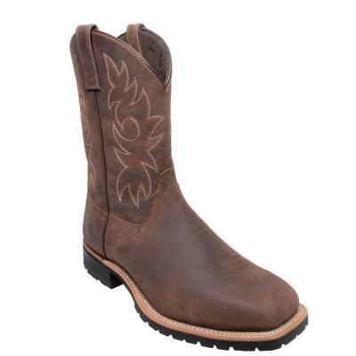 Men's Wellington Work Boots - Steel Toe