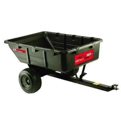650 lb. 10 cu. ft. Tow-Behind Poly Utility Cart Product Photo