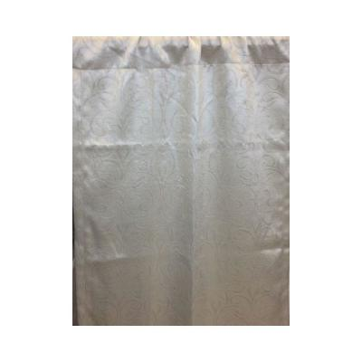 Sand Stylized Scroll Embossed Darkening Curtain - 50 in. W x 84 in. L Product Photo