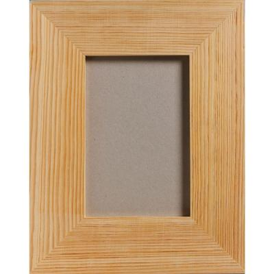 1-Opening 4 in. x 6 in. Wood Rectangle Picture Frame
