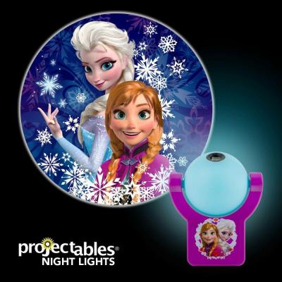 Projectables Disney Frozen Automatic LED Night Light-13340 - The Home ...
