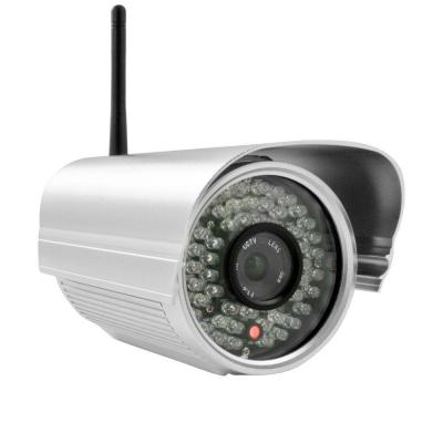 Insteon Wireless 700TVL Indoor/Outdoor Security IP Video Surveillance Camera with Night Vision - Silver-DISCONTINUED