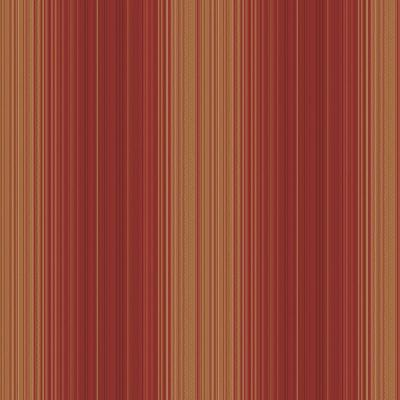 The Wallpaper Company 56 sq. ft. Red Jewel Tone Hampton Stripe Wallpaper