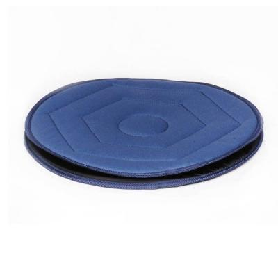 null Swivel Seat Cushion in Blue