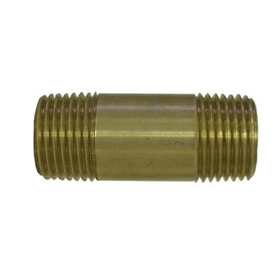 Sioux Chief 1/4 in. Lead-Free Brass Pipe Nipple