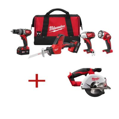 M18 18-Volt Lithium-Ion Cordless Hammer Drill/Hackzall/Impact/Metal