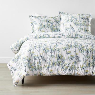 Company Cotton™ Meadow Bamboo Multicolored Botanical Sateen Comforter