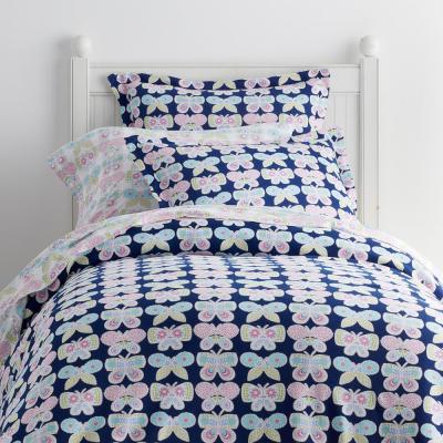 Butterfly Garden Jersey Knit Duvet Cover