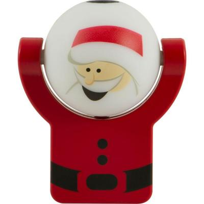 Projectables Santa/Snowman Auto LED Night Light