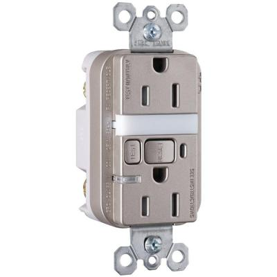 Pass & Seymour 15-Amp Tamper-Resistant GFCI Duplex Receptacle and Nightlight