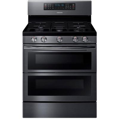 30 in. 5.8 cu. ft. Double Oven Gas Range with Self-Cleaning