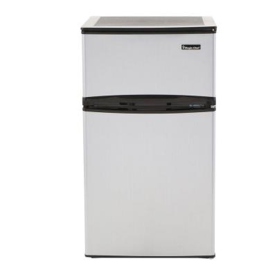 Magic Chef 3 1 Cu Ft Mini Refrigerator In Stainless Look