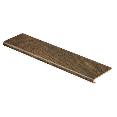 Tanned Hickory 94 in. Length x 12-1/8 in. Deep x 1-11/16 in. Height Laminate to Cover Stairs 1 in. Thick Product Photo