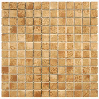Laceo Beige 12 in. x 12 in. x 6 mm Porcelain
