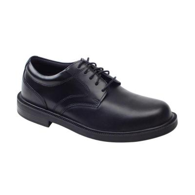 Deer Stags Times Black Size 7 Wide Plain Toe Oxford Shoe for Men
