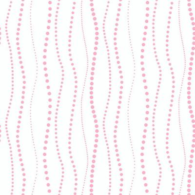 56 sq. ft. Dotty Stripe Wallpaper Product Photo