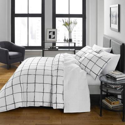 Zander Plaid Comforter Set