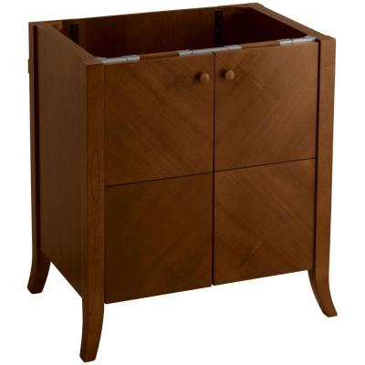 KOHLER Clermont 32 in. W x 21-1/2 in. D x 33-1/2 in. H Vanity Cabinet Only in Oxford