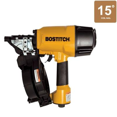 Bostitch 15 Degree 15-Gauge 1-1/2 in. - 3-1/4 in. Coil Framing Nailer