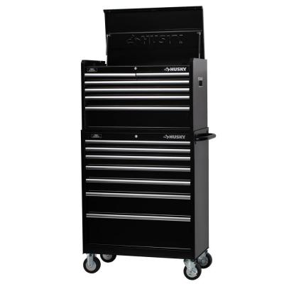 34 in. 13-Drawer Tool Chest and Cabinet Set