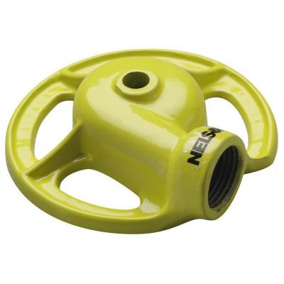 900 sq. ft. Yellow Cast-Iron Non-Clogging Sprinkler Product Photo