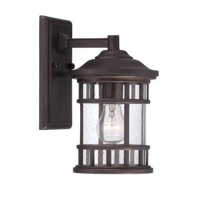 Acclaim Lighting New Vista Collection 1-Light Outdoor Architectural Bronze Wall Mount Light