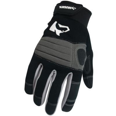 Husky Medium Medium Duty Work Glove 3 Pack Al8717 3pk M Ol The Home Depot