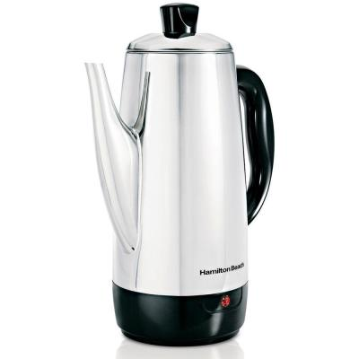 Hamilton Beach 12-Cup Stainless Steel Percolator-DISCONTINUED