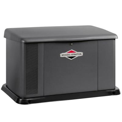 20,000-Watt Automatic Air Cooled Standby Generator with 400 Amp/Dual 200 Amp