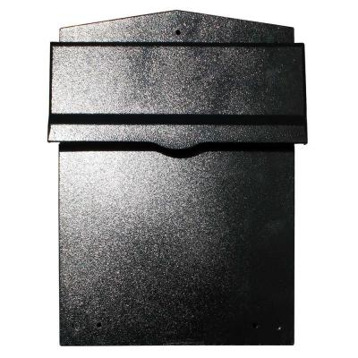 Liberty Black Wall Mount Locking Mailbox Product Photo