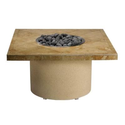 44 in. Square Ice N' Fire Pit in Sandalwood Product Photo