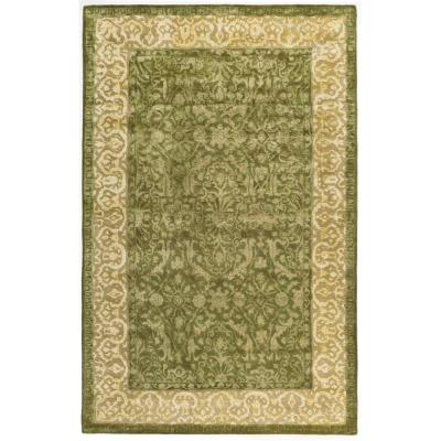 Safavieh Silk Road Spruce and Ivory 5 ft. x 8 ft. Area Rug