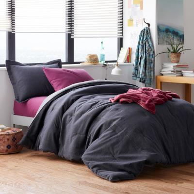 Denim Solid Cotton Comforter