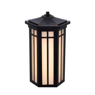 Antique Bronze Outdoor LED Pocket Wall Light Product Photo